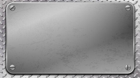 plaque aluminium anodisé