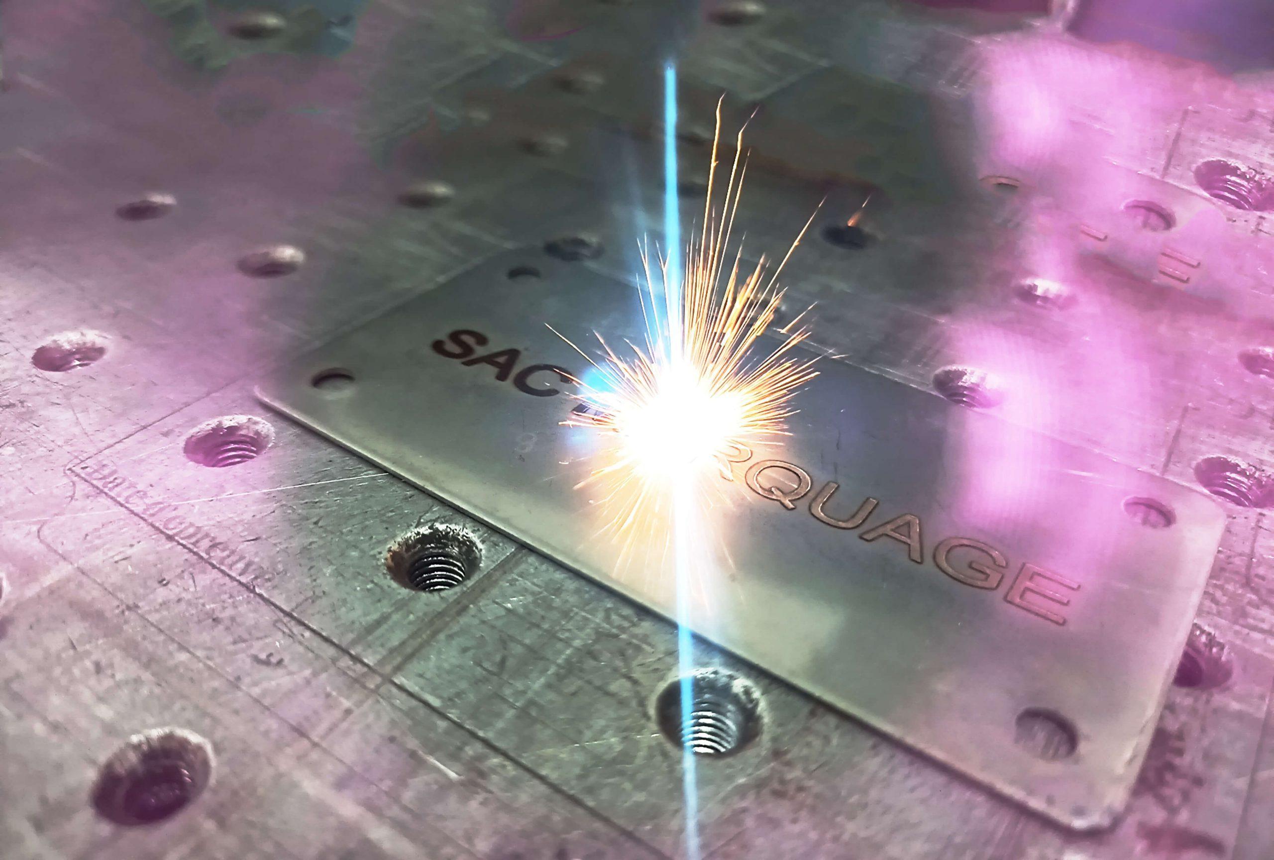 marquage et gravure laser